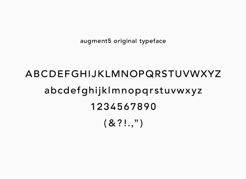 augment5 typeface