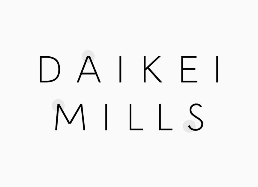 DAIKEI MILLS typeface