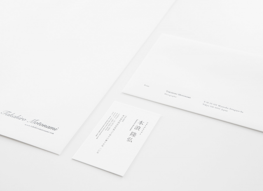 takahiro motonami name card