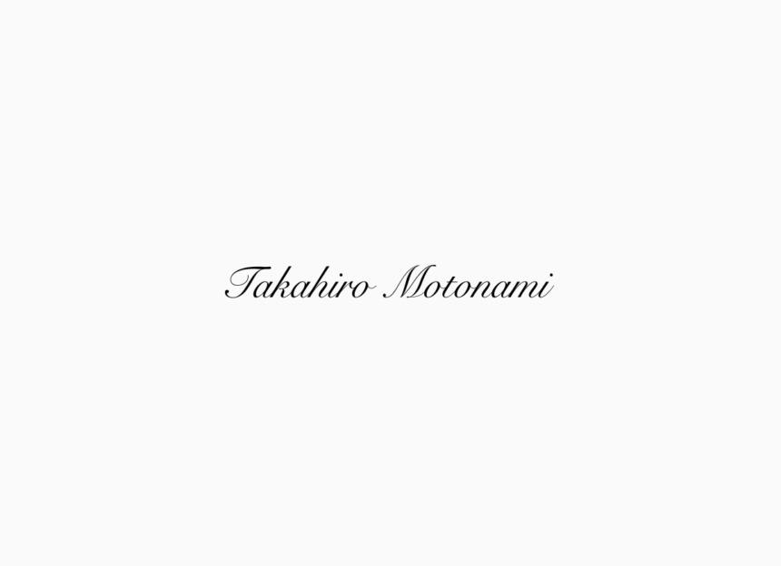 takahiro motonami logo