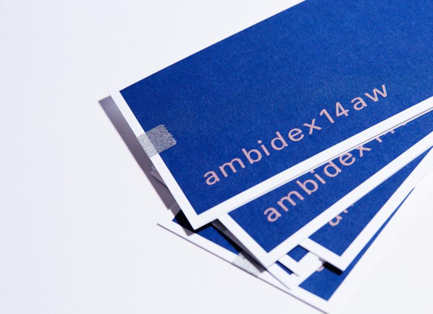 AMBIDEX 2014 AUTUMN / WINTER EXHIBITION