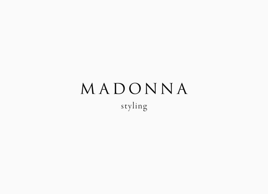 MADONNA styling logo
