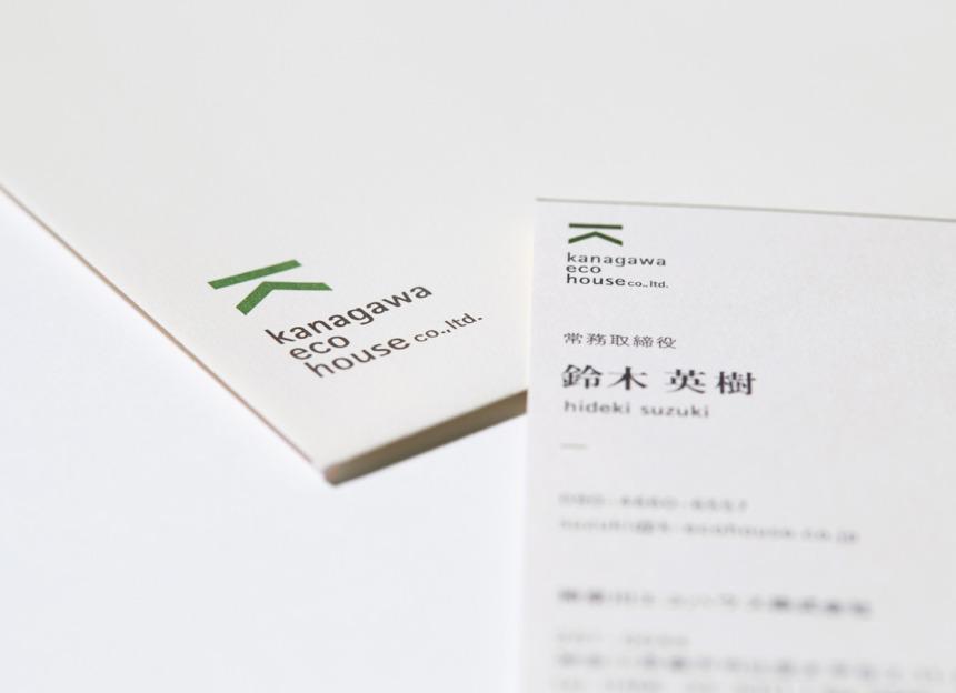 kanagawa eco house name card