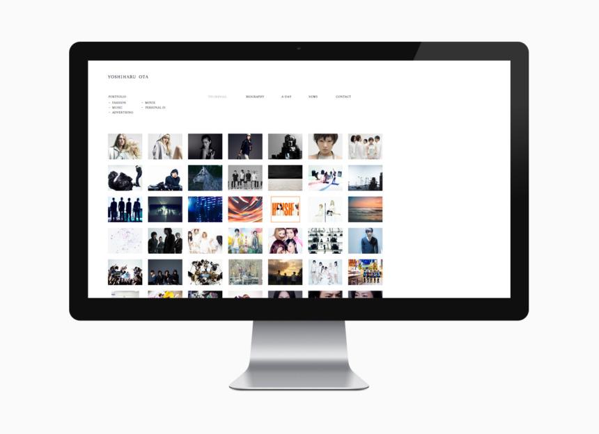 YOSHIHARU OTA web