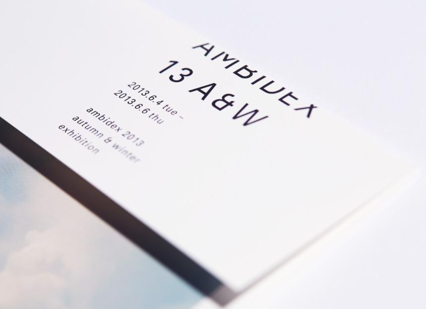 AMBIDEX 2013 AUTUMN / WINTER EXHIBITION DM