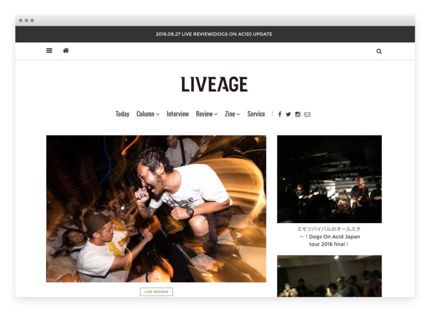 LIVEAGE | NSSG