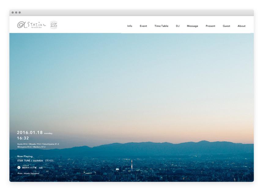FM KYOTO / α-STATION